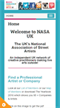 Mobile Preview of nasauk.org
